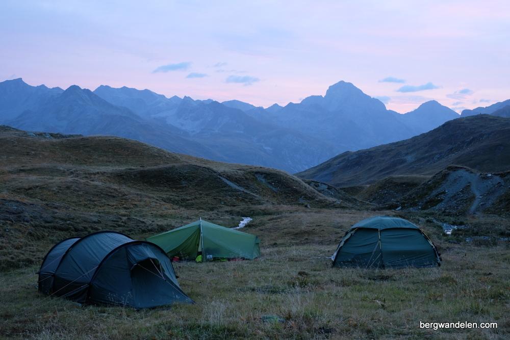 Wildkampeer Trektocht Bivio Bergwandelen.com Allard van Lingen