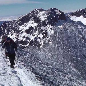 Op sneeuwschoenen door de Atlas