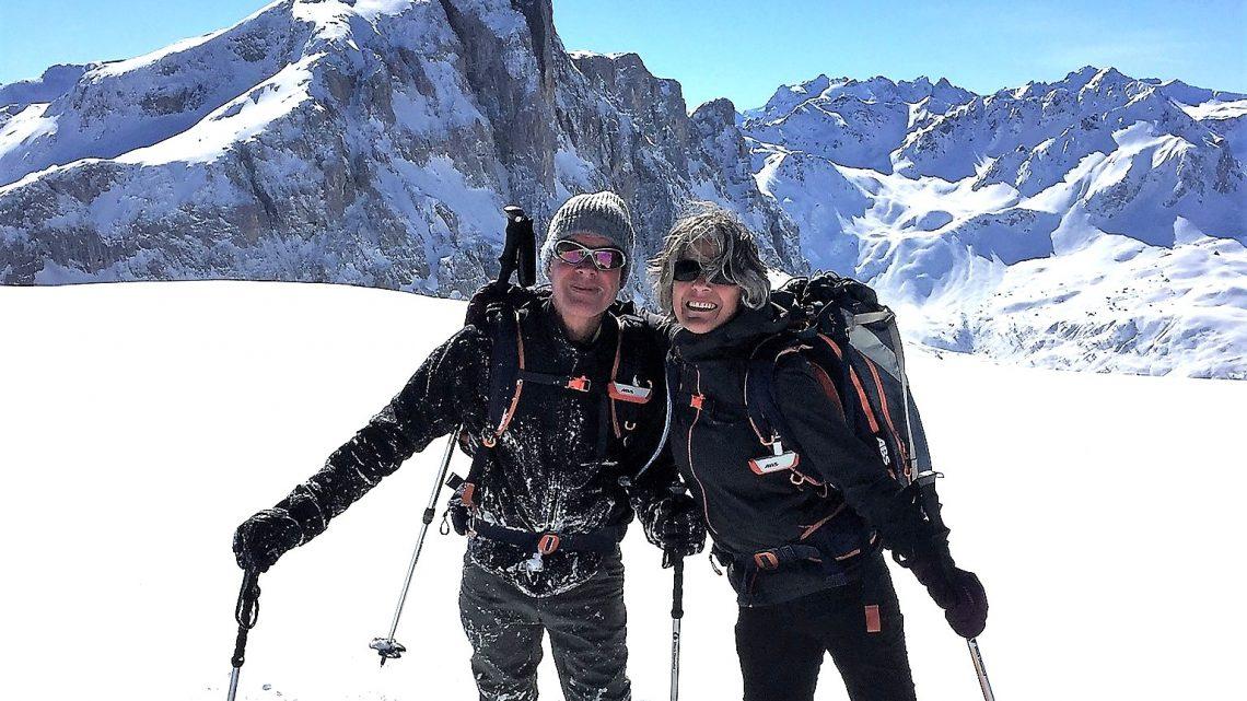 Bergwandeltocht op sneeuwschoenen, geweldig om mee te maken!